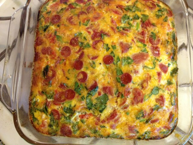 Baked Frittata Italian Style