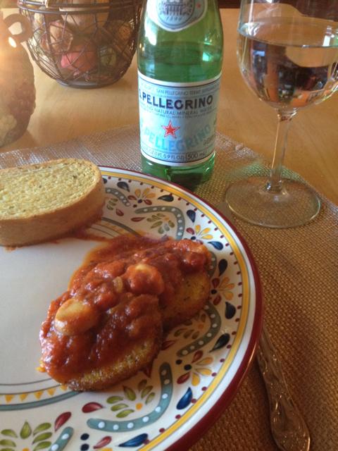 My Real Italian Kitchen: Polenta with Sauce